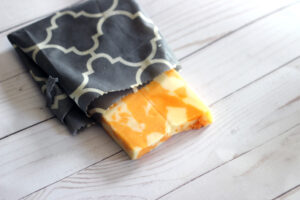 Beeswax Food Wrapping cheese