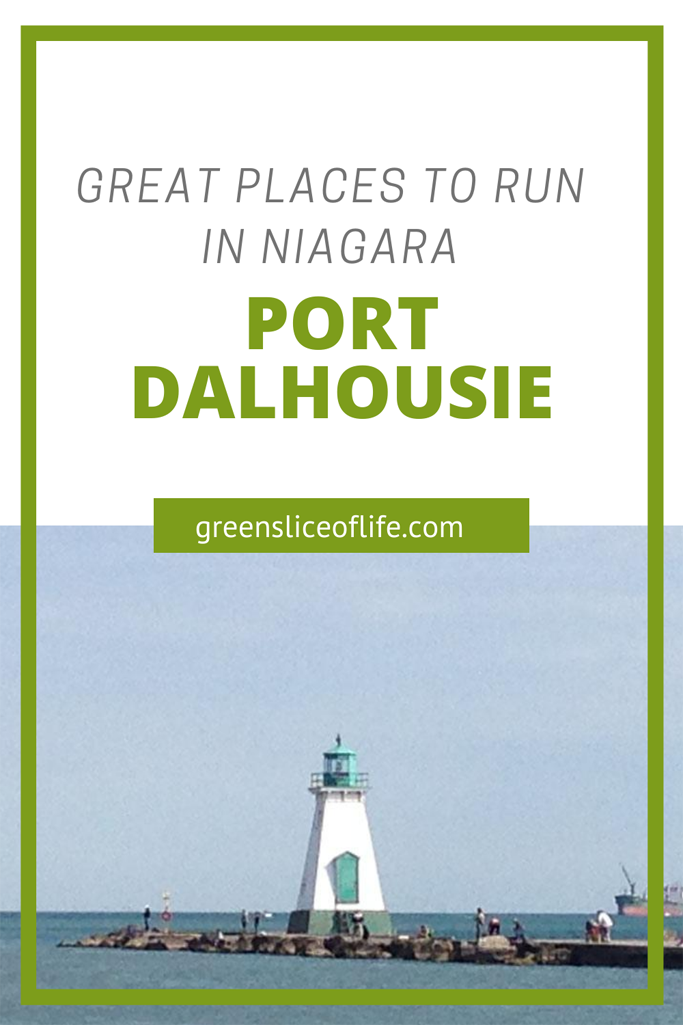 Pinterest image showing Port Dalhousie LIghthouse