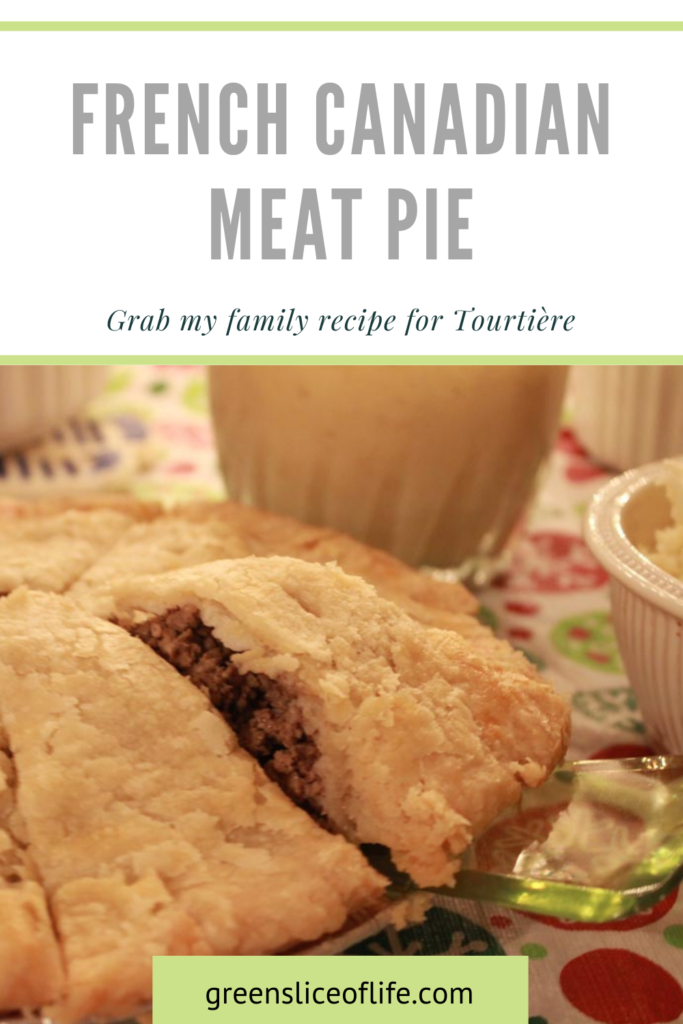 Image of Tourtière, a French Canadian meat pie