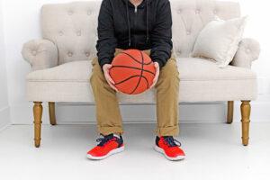 Image of boy with basketball