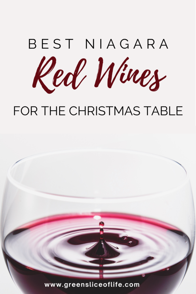 image of Best Niagara Red Wines for The Christmas Table