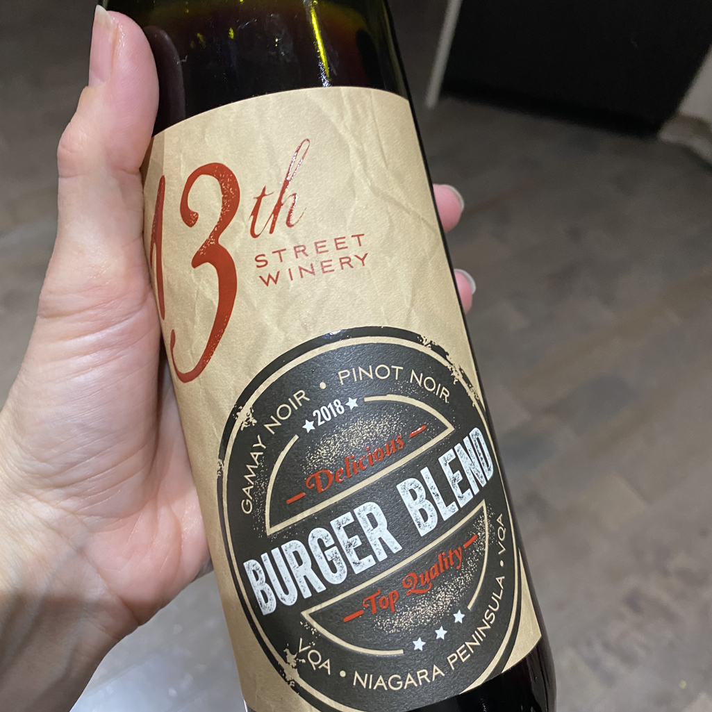 Image of 13th Street Winery's Burger Blend Wine